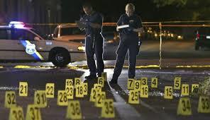 Crime Scene evidence markers
