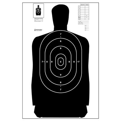 sihlouette target