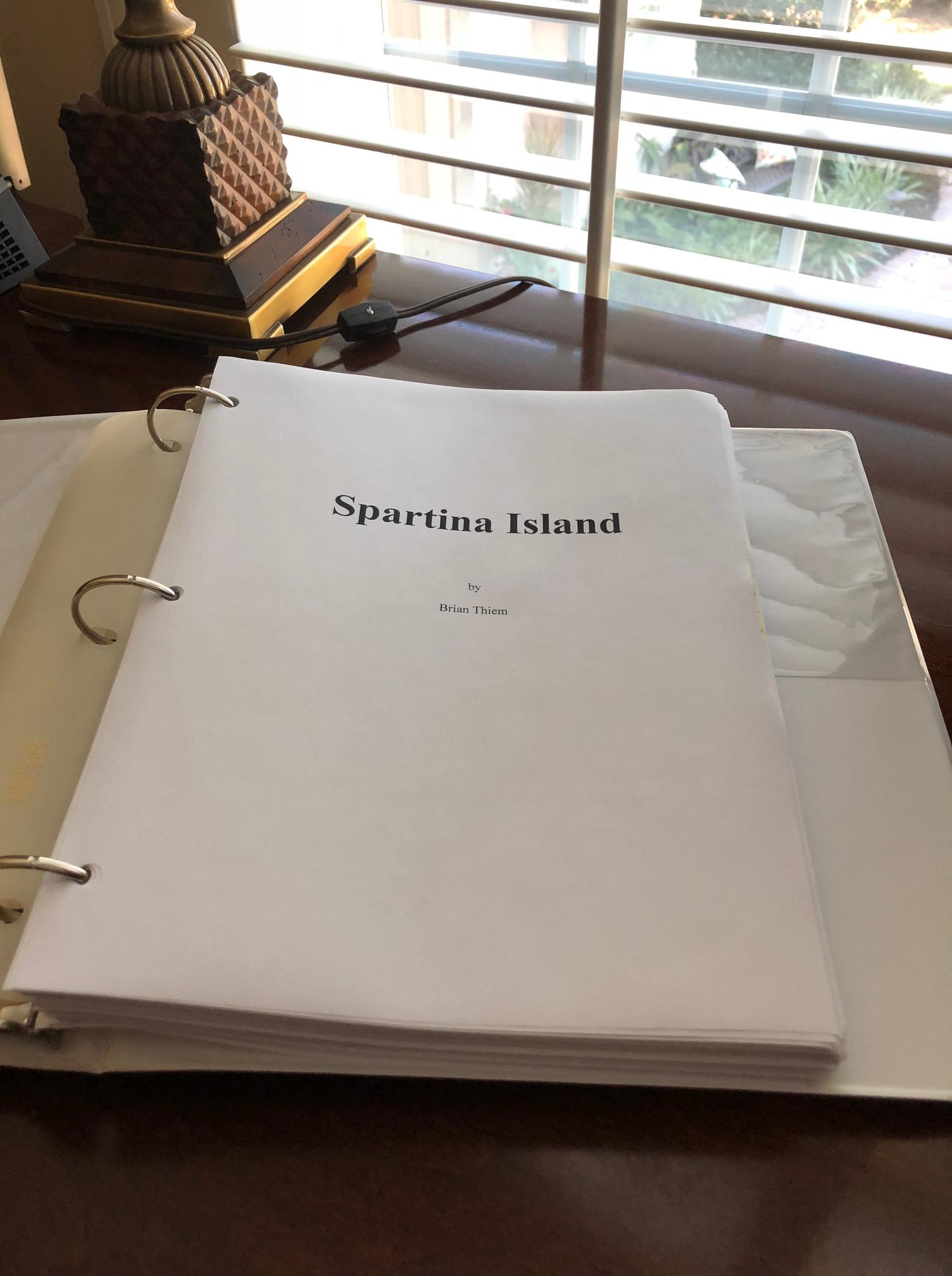 Spartina Island Manuscript