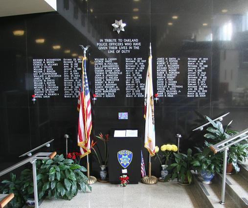 OPD Memorial Wall 2