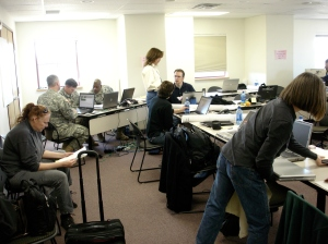 Alamosa, Colorado. Emergency Ops Center. March 2008.